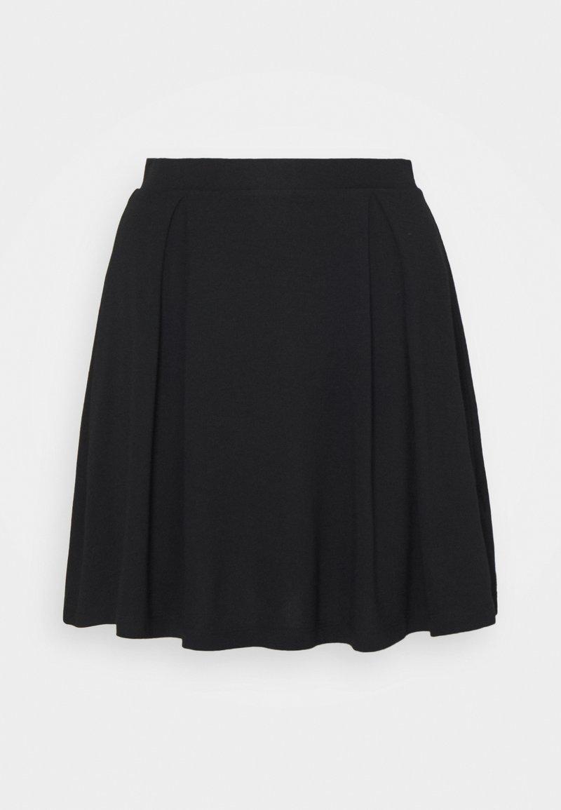 Even&Odd Petite - Jupe trapèze - black
