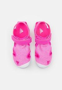 adidas Performance - CAPTAIN TOEY UNISEX - Walking sandals - screaming pink/footwear white - 3