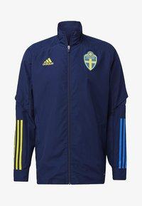 adidas Performance - SWEDEN SVFF PRESENTATION JACKET - National team wear - blue - 6