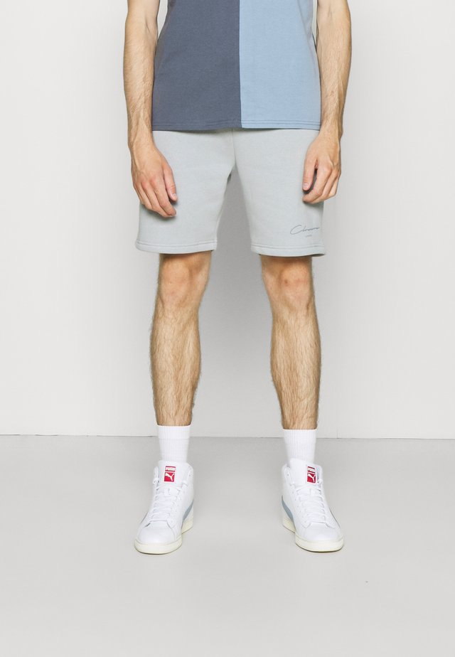 BRANDED  - Tracksuit bottoms - ice grey