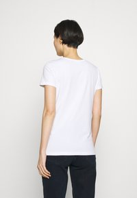 Love Moschino - Triko spotiskem - optical white - 2