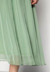 Saint Tropez - CORAL SKIRT - A-line skirt - basil - 4