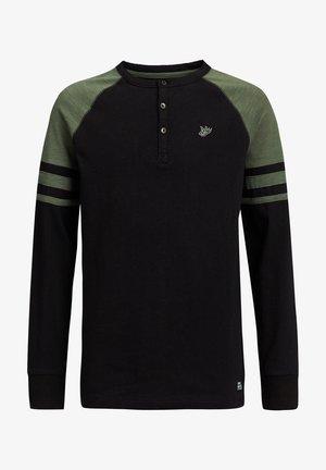 Langærmede T-shirts - army green