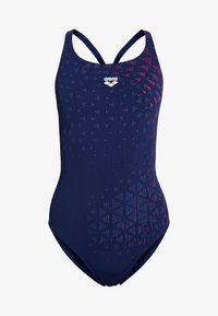 Arena - ONE TUNNEL VISION SWIM PRO ONE PIECE - Swimsuit - navy freak/rose - 3