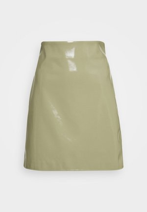 CASSIDY SKIRT - Minisukně - ice green