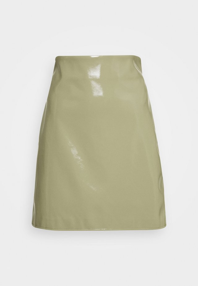 CASSIDY SKIRT - Spódnica mini - ice green