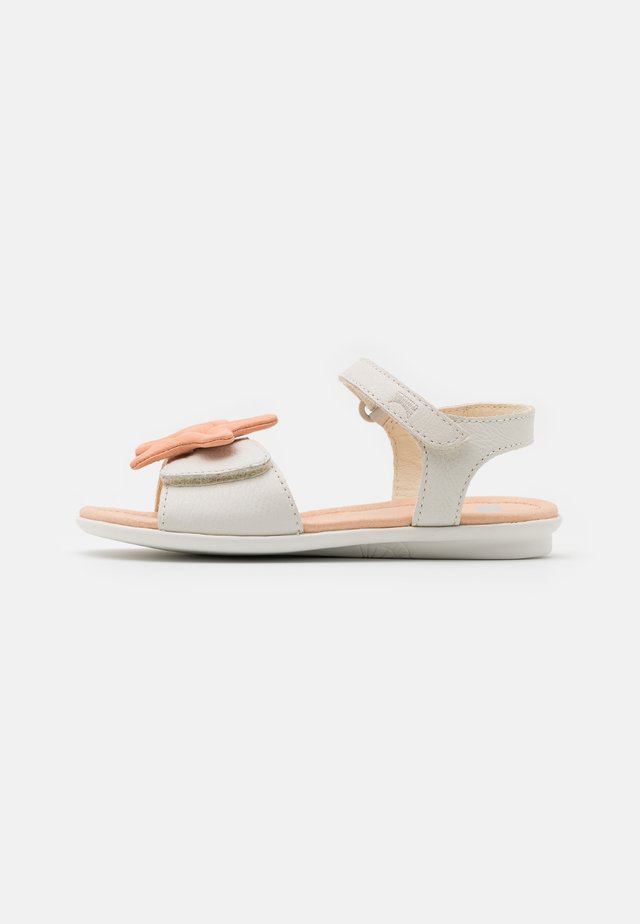 TWINS - Sandals - white natural