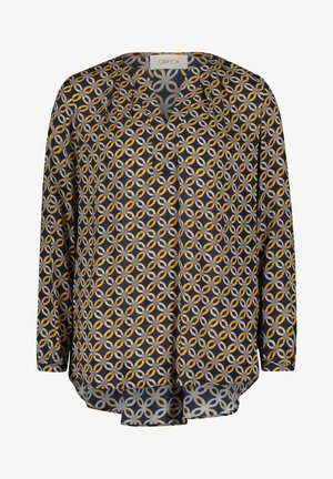 Blouse - blue/yellow