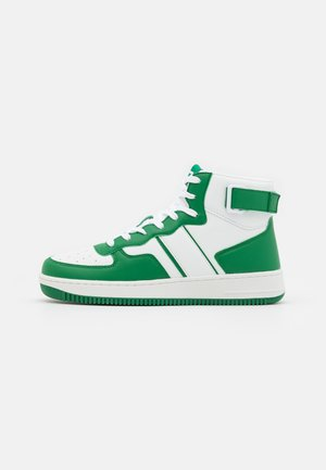 Vysoké tenisky - green