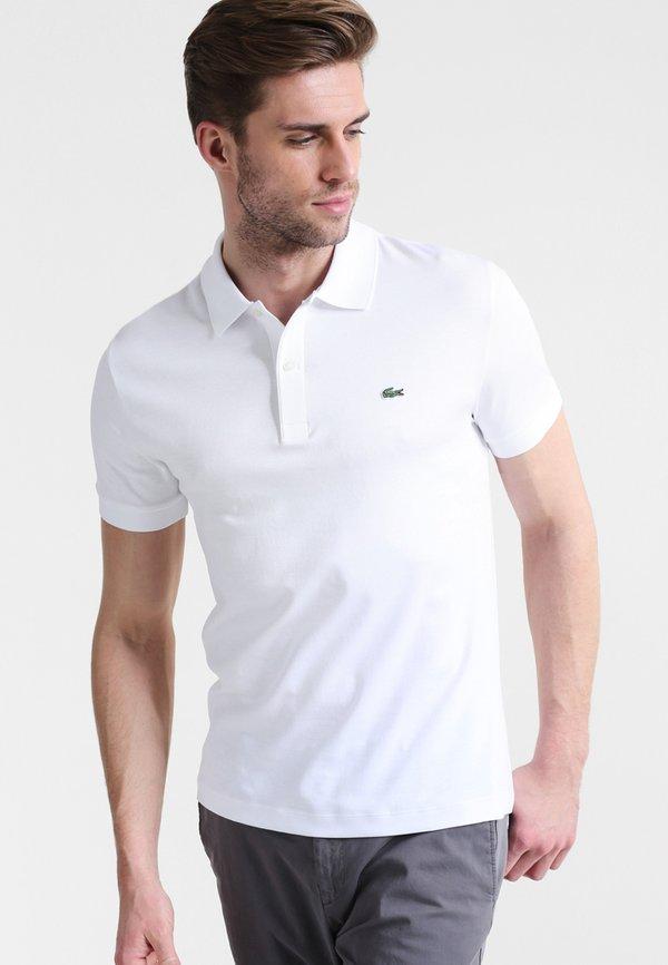 Lacoste DH2050 - Koszulka polo - white/biały Odzież Męska GPDO