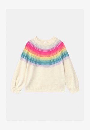 TODDLER GIRL RAINBOW YOKE - Pullover - multi-coloured