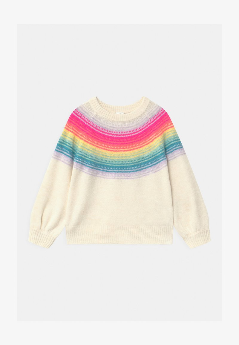 GAP - TODDLER GIRL RAINBOW YOKE - Jumper - multi-coloured