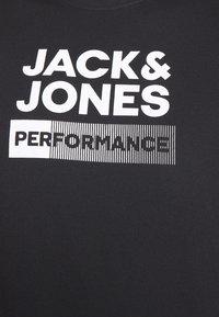 Jack & Jones Performance - JCOZ SPORT LOGO TEE 2 PACK - T-shirt med print - black/forest night - 6