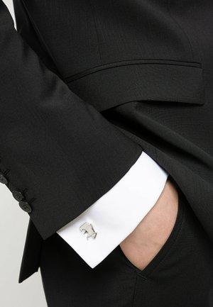 E-ORIGAMI - Boutons de manchette - silver