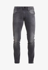 Replay - ANBASS HYPERFLEX - Slim fit jeans - light grey - 4