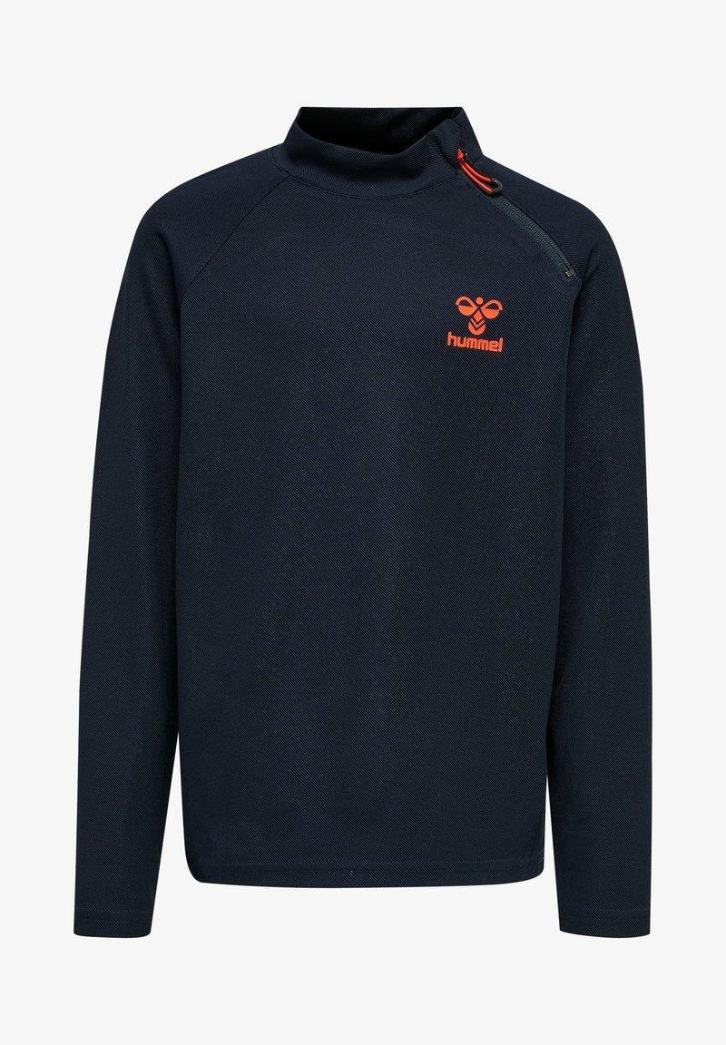 Hummel - ACTION  - Sweatshirt - dark sapphire/fiesta