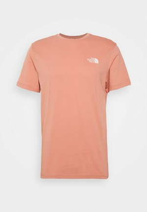 SIMPLE DOME TEE NEW TAUP - T-shirt print - pink clay
