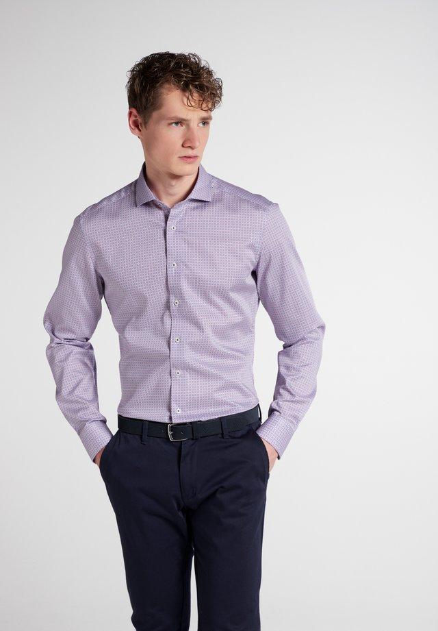 SLIM FIT - Overhemd - pink  blau