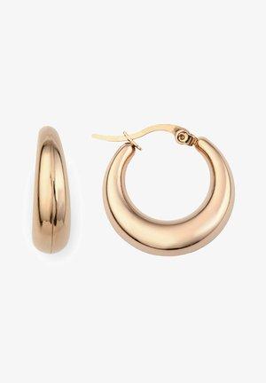 TALOS  - Earrings - rose goldfarbend