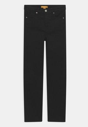 SLIT - Straight leg jeans - black