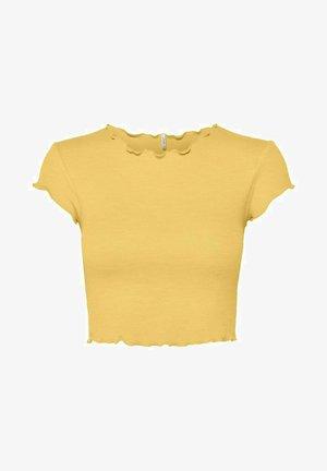 ONLKITTY SHORT - T-shirt print - cornsilk