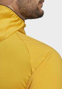 adidas Performance - TERREX SKYCLIMB FLEECE JACKET - Fleece jacket - yellow - 6