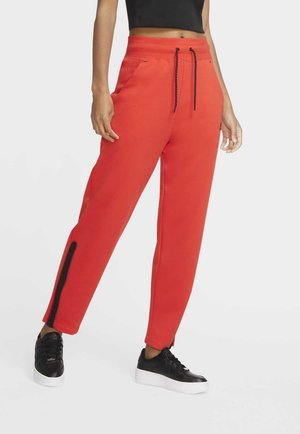 Tracksuit bottoms - chile red/black