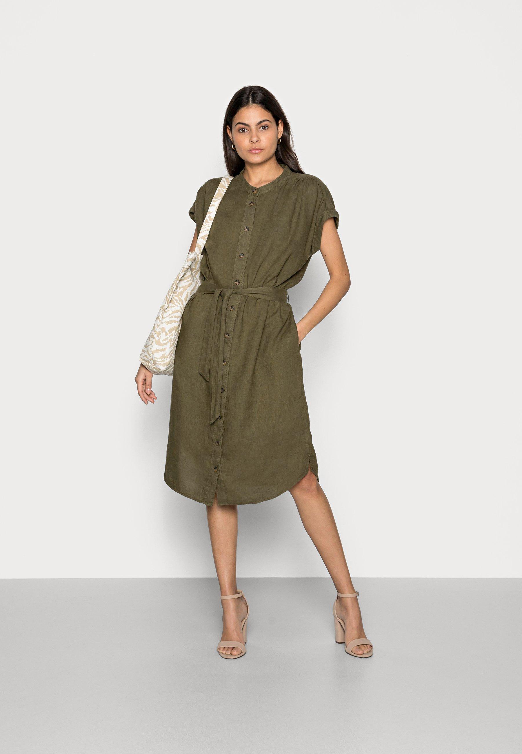Women DRESS - Shirt dress