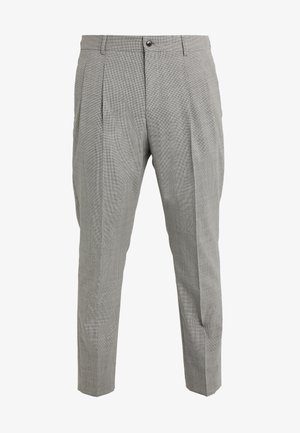 FARLYS - Suit trousers - open grey