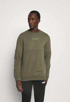 MODERN BASICS CREW - Sweatshirt - grape leaf