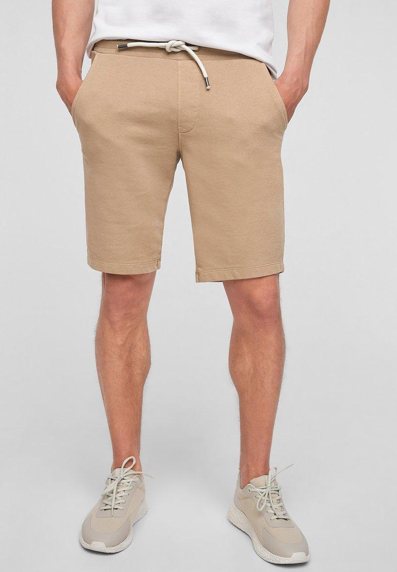 s.Oliver - Tracksuit bottoms - brown