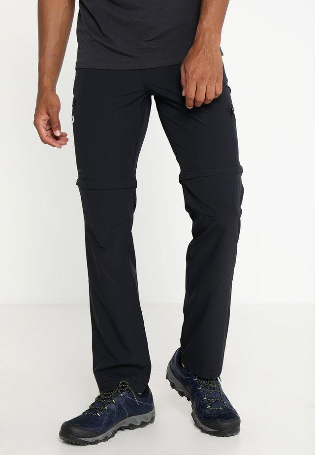 RUNBOLD ZIP OFF 2-IN-1 - Pantalon classique - black