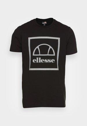 ANDROMEDAN TEE - T-shirts med print - black