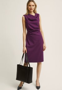 STOCKH LM - PETRA  - Robe fourreau - dark purple - 0
