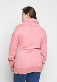 Ragwear Plus - NESKA PLUS - Mikina skapucí - pink - 2