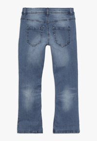 Benetton - TROUSERS - Bootcut jeans - light-blue denim - 1