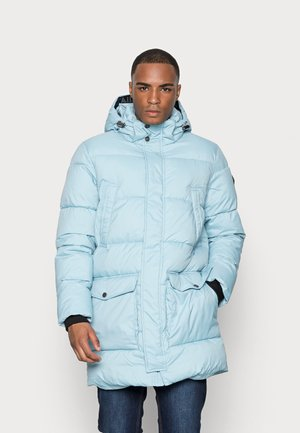 LONG PUFFER  - Winter coat - calm cloud blue