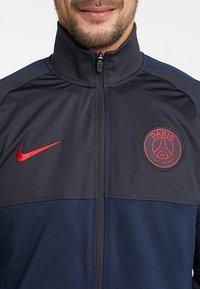 Nike Performance - PARIS ST GERMAIN DRY SUIT - Club wear - oil grey/obsidian/university red - 5