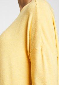 ONLY - ONLGLAMOUR - Top sdlouhým rukávem - cornsilk - 4
