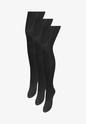 3 PACK - Collants - black