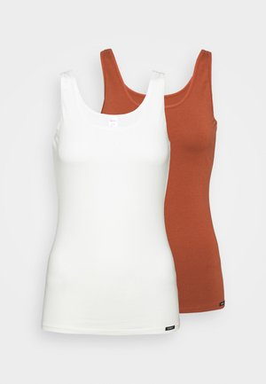 TANK ADVANTAGE 2 PACK - Undershirt - burntred