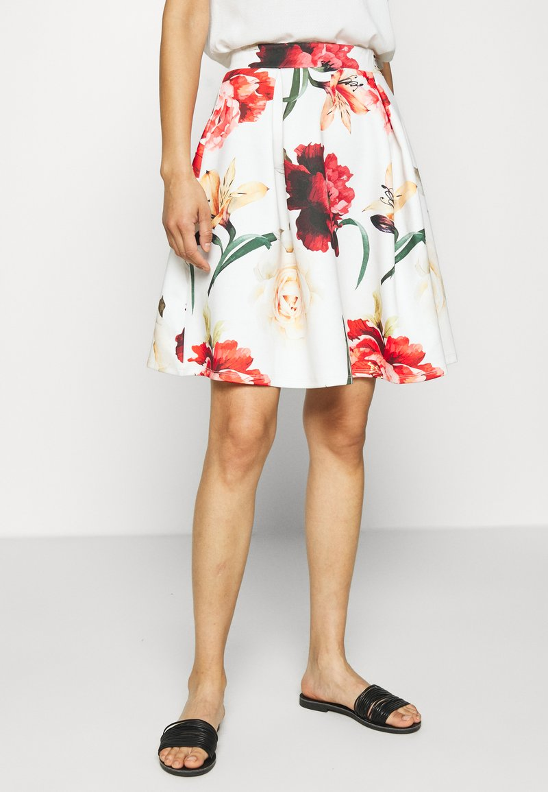 Anna Field - A-line skirt - white