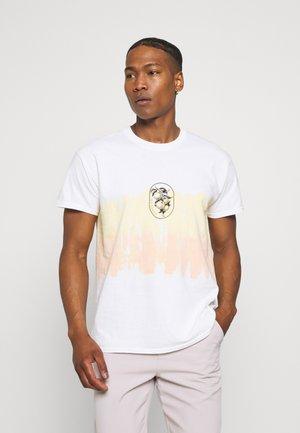 HAVANA TIE DYE SHIRT - T-shirt med print - white