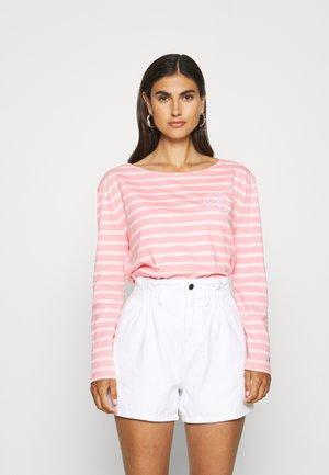 Camiseta de manga larga - breton/pale pink
