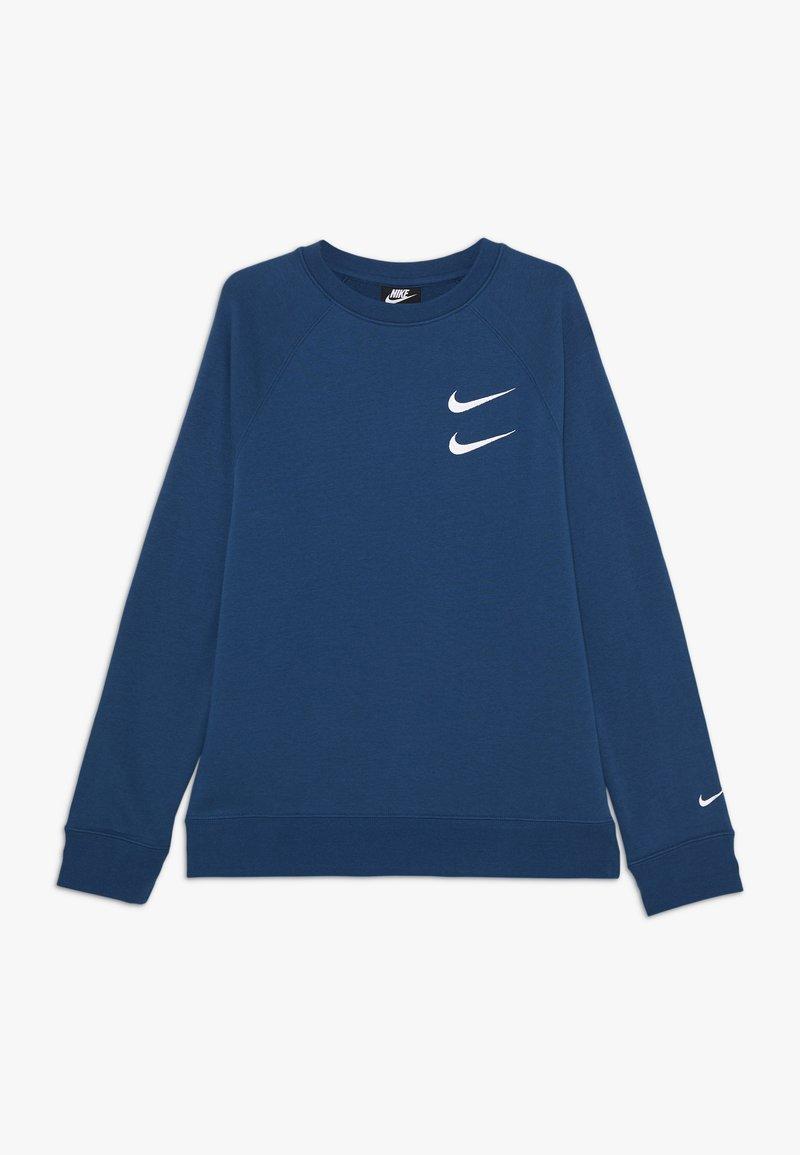 Nike Sportswear - CREW - Sweater - blue foam/white