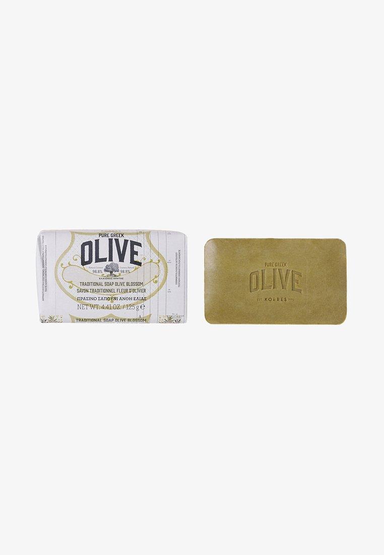 Korres - OLIVE & OLIVE BLOSSOM BODY SOAP - Soap bar - -