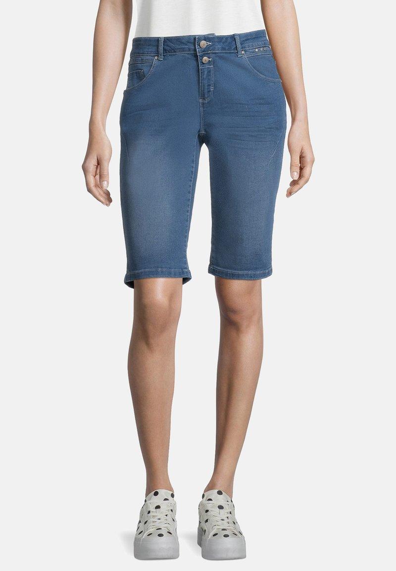 Cartoon - Denim shorts - blau