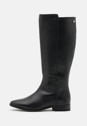 GARBI - Stivali alti - black