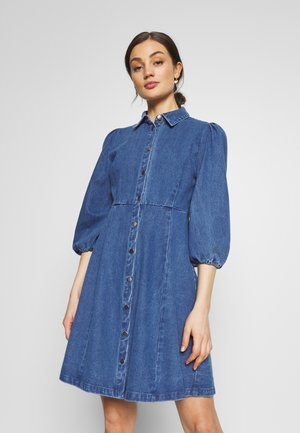 BAHIRA - Vestito di jeans - dark indigo blue
