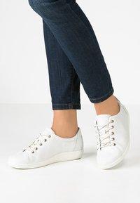 ECCO - SOFT  - Sneakers basse - white - 0
